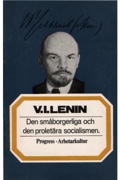 Den småborgerliga och den proletära socialismen