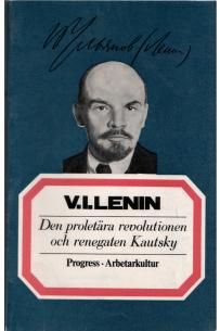 Den proletära revolutionen och renegaten Kautsky