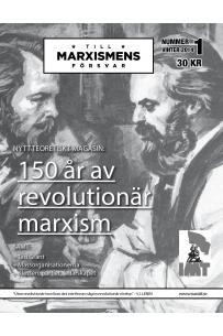 Till marxismens försvar #1 vinter 2014