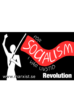 Klistermärke: Socialism i vår livstid