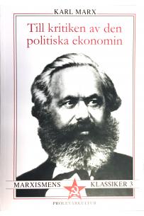 Till kritiken av den politiska ekonomin