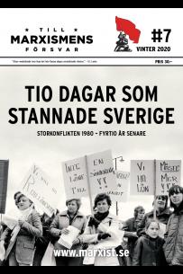 Till marxismens försvar #7 vinter 2020